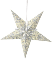 China Handicraft led Christmas paper star lantern pattern wholesale for party