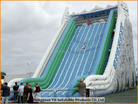 giant adult size amusement park inflatable slide