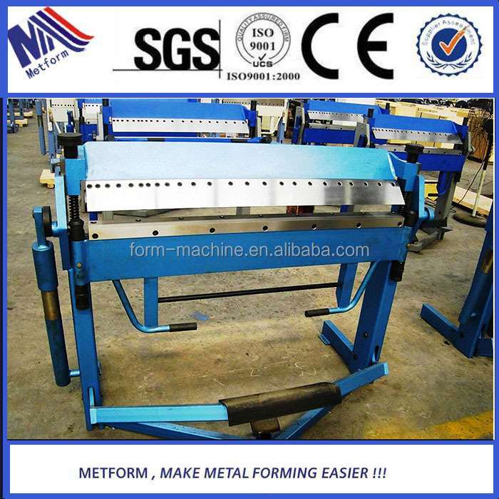 Foot Operated Metal Plate Bending Folding Machine with top quality