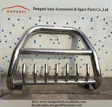 Stainless steel front bumper guard, grille guard,car accessories for MITSUBISHI PAJERO V97.V99