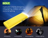 power bank portable charger for mi led light power bank camping mobile charger Lighting