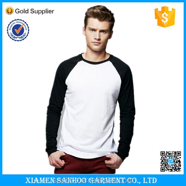 Custom Fashion Design Men's Blank Burnout Baseball Tee Raglan Sleeve T Shirts Top For Men Wholesale