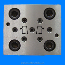 vinyl glazing bead mould/glazing bead mould/profile glazing beads mould