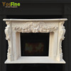 Indoor Used Lowes Marble Fireplace Mantels For Sale