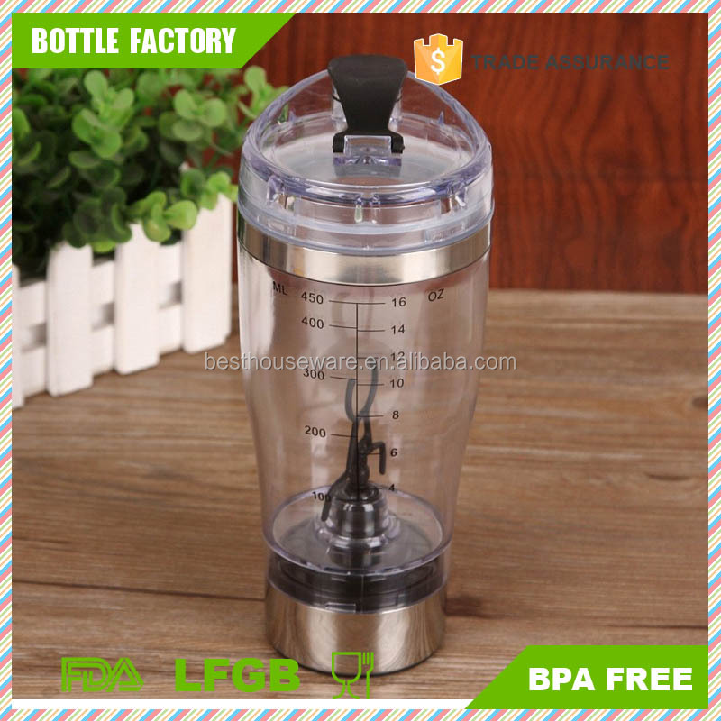 Portable Electric Vortex Mixer and Shaker Bottle