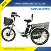 Hot Selling 36V 48V 250W 350W Electric Trike with Three Wheel E Trike for Cargo Loading