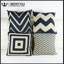 Wholesale Home Decor Fashion High Quality Soft Cheap And Cheerful Cotton Linen Throw Pillow Covers