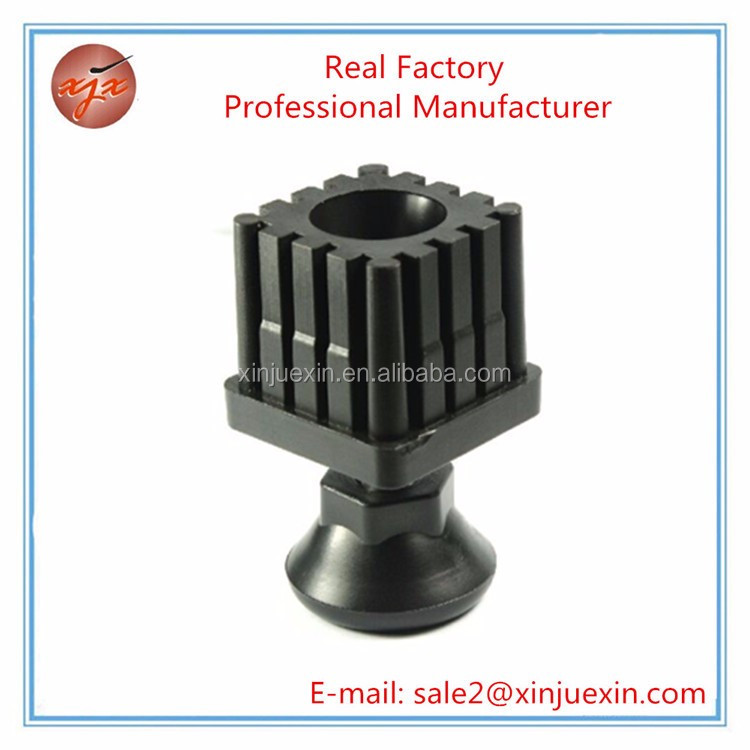Wholesale square plastic pipe plug for furniture protectors