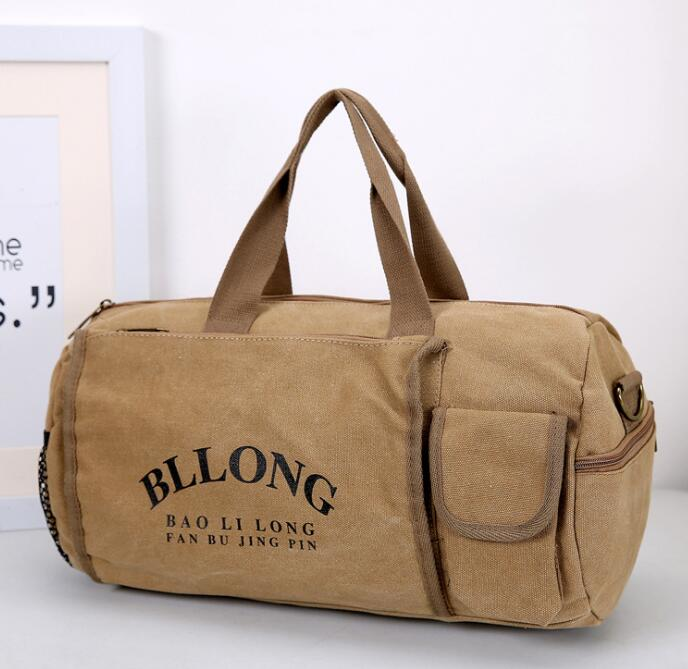 canvas duffle bag for <strong>travelling</strong>