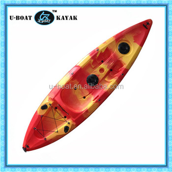 1 Paddlers (Max) and No Inflatable Single person kayak