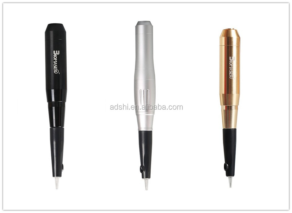 Biomaser cosmetic makeup device set with digital permanent eyebrow tattoo machines