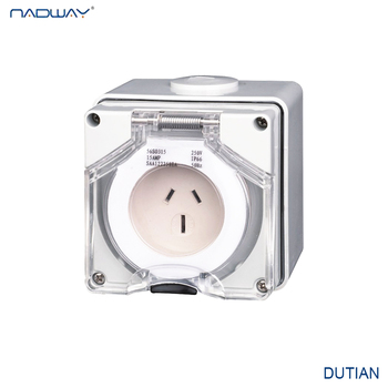 Gold supplier NADWAY product 56AI series Industrial plug and socket made in china