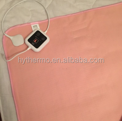 China supplier luxury 20VPolyester Massage Electric Blanket for Bed Warmer electric blanket