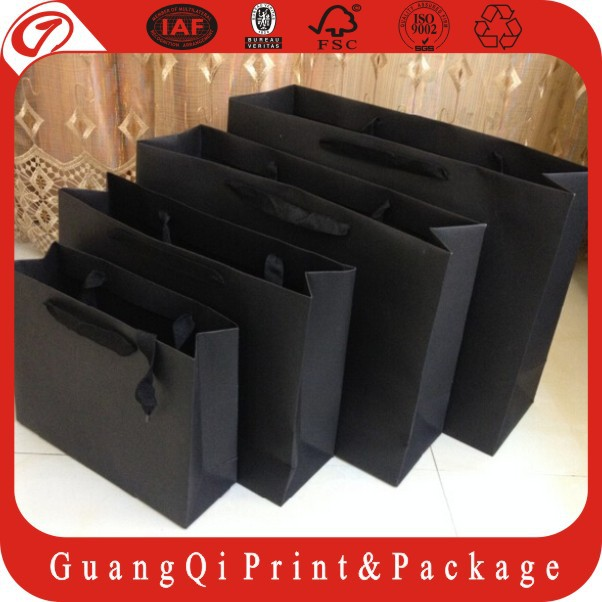 2017 Custom Printed Counter wholesale paper shopping bags With logo print