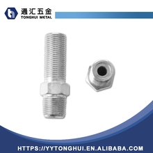 BSP to NPT Thread Adapters Nipple Stainless Steel Pipe Fittings