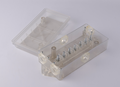 S80528 Trailer Wiring Junction Box for 7 Way or 6 Way Trailer Wire Connectors transparent