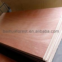 Customized design okoume faced plywood for door