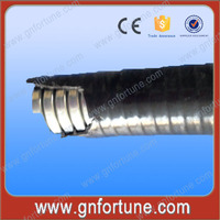 PVC Coated Metal Flat Pipes