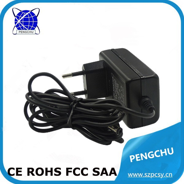 Single output ac dc adapter 9v 1.5a tablet charger