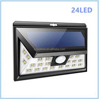 3 Lighting Level 24SMD LED Solar Motion Porch Lights Outdoor