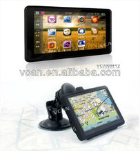 "Wholesale top rated HD 5"" touch screen car gps navigation WithFM AV-IN BT USB connection gps navigation receivers"