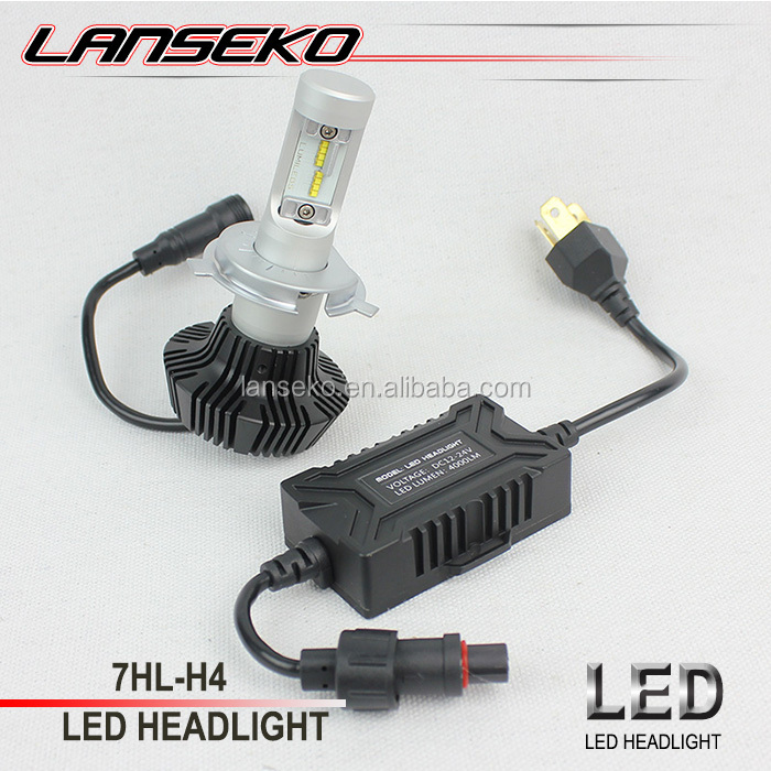 LANSEKO newest G7 car led headlight 30w 4000LM led motorcycle headlight