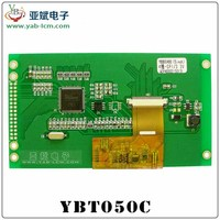"5 ""tft 800*480 50-pin LCD module with capacitive touch screen"