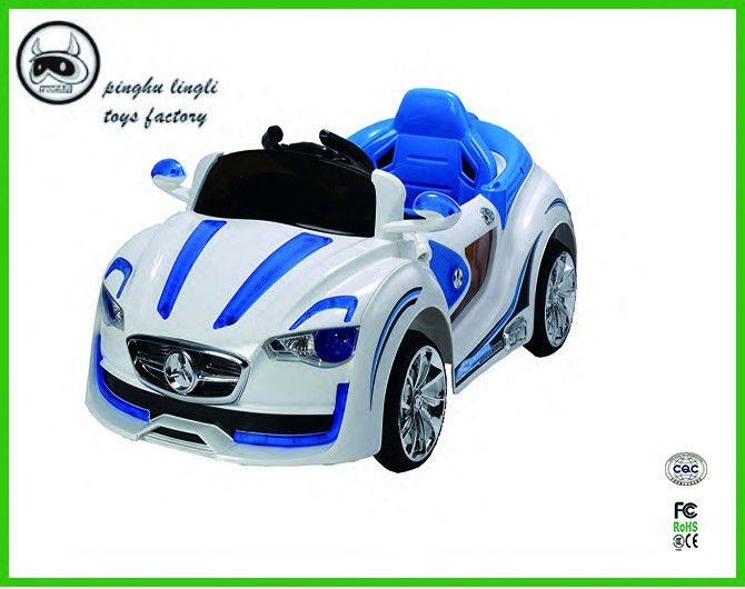 <strong>Model</strong> BLJ9988,the babies with rocking and shining lights,high quality plastic electric car controller ride on car