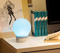 color changing touch responsive smart led table lamp with 2 channel bluetooth speaker