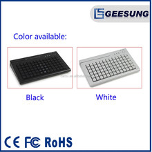 Cherry MXkeys Keyboard/ High quality ans hot sale pos programmable keyboard with msr