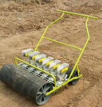 manual seeding machine 6 row radish vegetable seeder with seed wheels