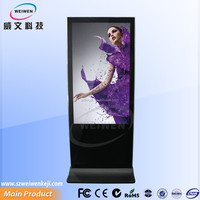 55inch full hd media network lcd display advertising player