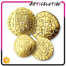 Factory High Quality Custom Gold Plated Rare India Old Coins for Sale