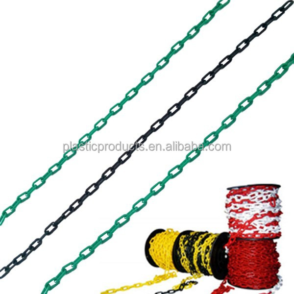 Wholesale 2mm coloured plastic link chain