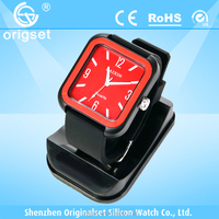 Latest Silicone Rubber watches Multi-color Japan movement waterproof top quality Custom logo ladies watches