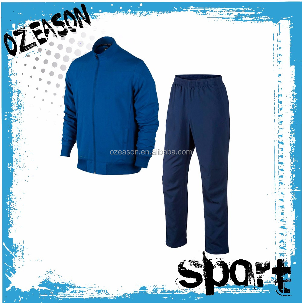 OEM Dri Fit Fabric Design Your Own Men Jogger Winter Plain Tracksuit