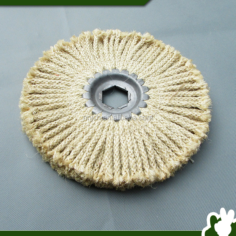 Non-woven Polishing Wheel of 8-strand Sisal Rope