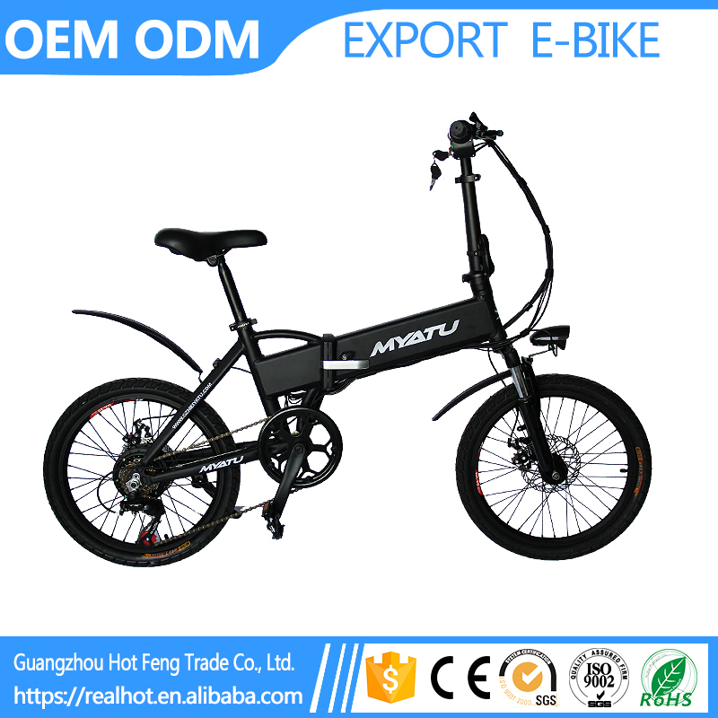 High Quality Vehicle Mounted E Bicycle Mini Rear Drive Pure Foldable Scooter electric pocket bike
