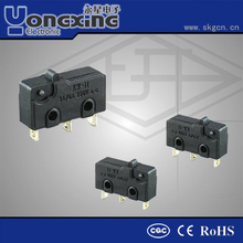IP40 3A/5A 250V AC T105 Micro switch