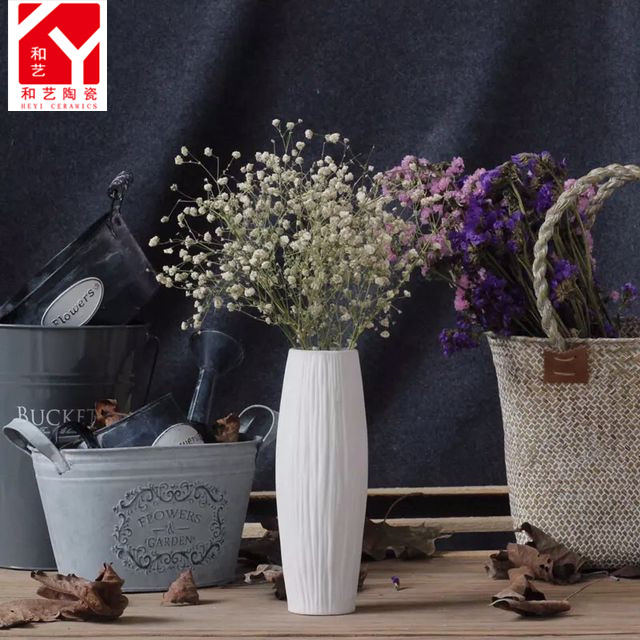 Chinese reproduction home decoration floor ceramic flower modern vase