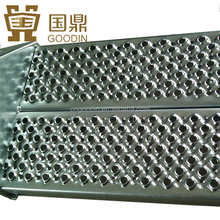 OUTDOOR PERFORATED METAL STAIR TREADS STEPS