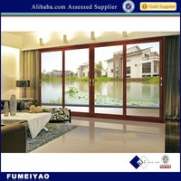 Gold supplier of aluminium sliding door profile for villa/five star hotel/house/aluminium window and door