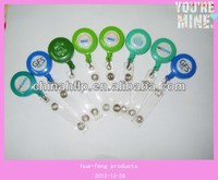 Wholesale reusable badge holder with plastic pocket