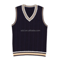 Japanese school uniform vest V-neck sweater vest for school boys and girls
