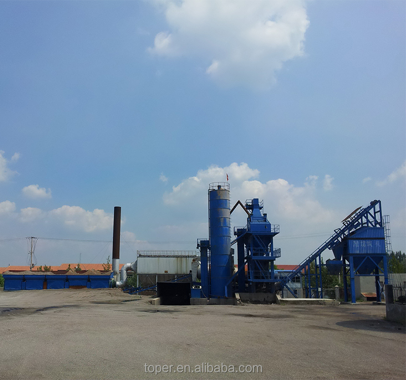 China best quality Environmentally friendly LB1500 Asphalt Emulsion Plant Asphalt Mixer Plant Asphalt Concrete Mixing Plant