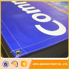 pvc flex vinyl mesh outdoor hanging advertisement banner