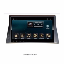 For Hondas Accord 2007-2013 10.1 inch Touch Screen Android 6.0 Full HD Car Multimedia Player