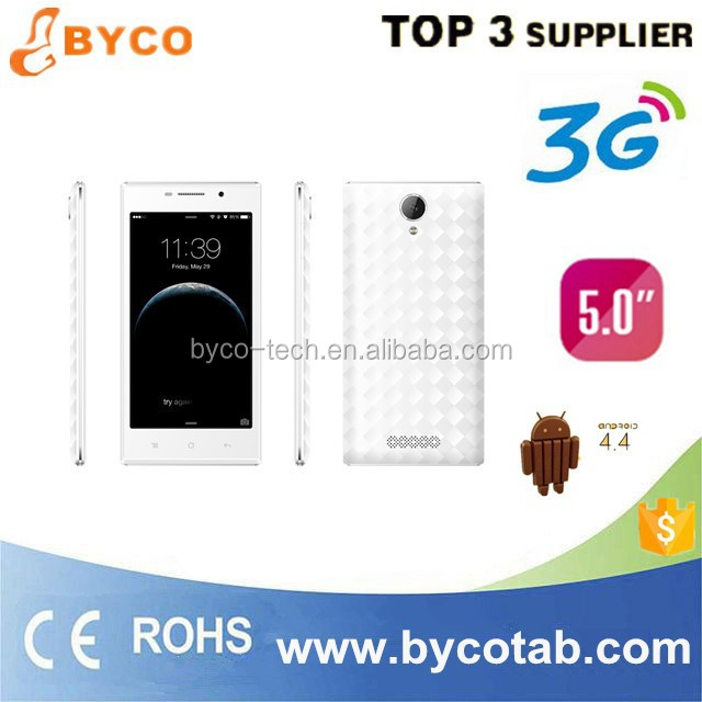 3g wcdma dual sim dual standby /5.0 inch android smart mobile phone/big discount mobile phone