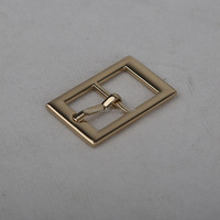 Customized high quality metal parts buckle handbag hardware for bag