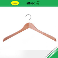 LM3000A Wholesale Antique Natural Wooden Suit Hanger